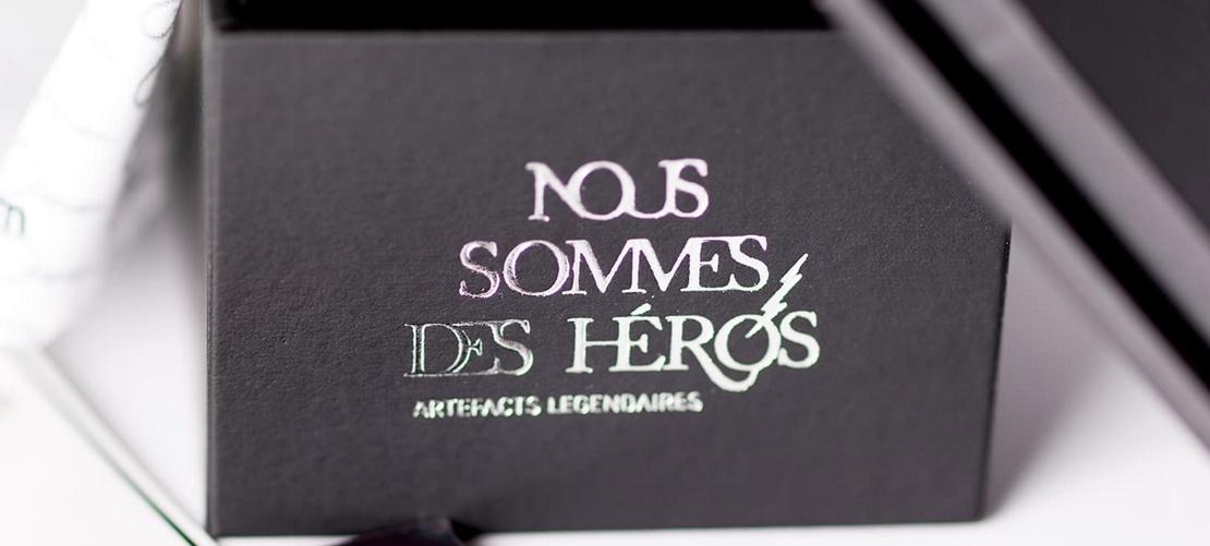 présentatioin de la marque nous sommes des héros